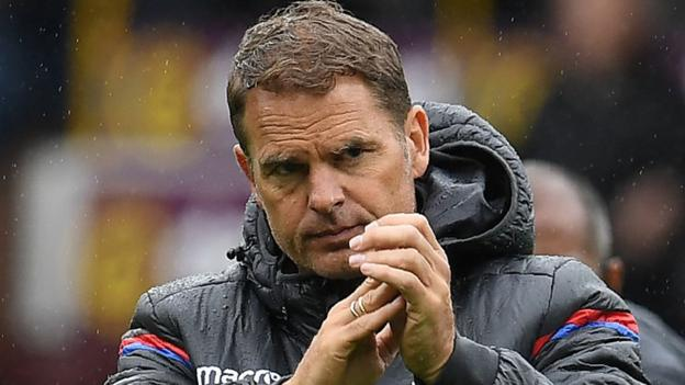 Frank de Boer Sacked By Crystal Palace